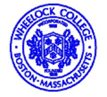 Wheelock College logo